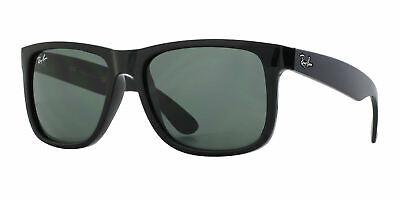 Ray-Ban Sunglasses Justin 4165 601/71 Black Green Large 55mm