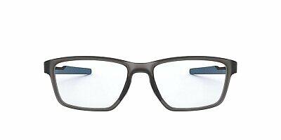 Oakley Men's OX8153 Metalink Rectangular Eyeglass Frames Non