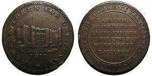 Nottinghamshire 1811 Newark ONE PENNY TOKEN-  mostra il titolo originale - Italia - Nottinghamshire 1811 Newark ONE PENNY TOKEN-  mostra il titolo originale - Italia