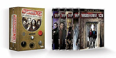 Warehouse 13  Complete Series  Dvd  2014  16 Disc Set
