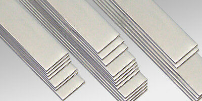 ALUMINIUM FLAT BAR 20,25,30,40mm (in many Lengths and thickness) Aluminium Flat Bar
