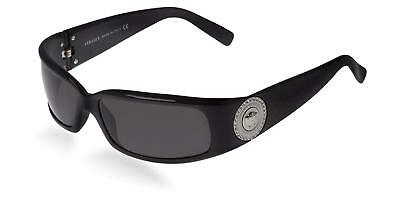 Versace Sunglasses VE4044B GB1/87 Polished Black Silver Coin w/Grey Len 60-15mm