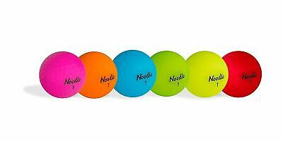 NEW TAYLORMADE NOODLE NEON MULTI COULOR 1 DOZEN GOLF BALLS ANY COLOUR
