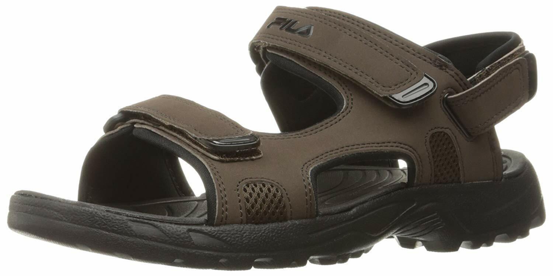 FILA  Mens Transitions sandals espresso color