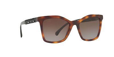 c66c91dac82f7 Chanel 5374B c.1425 S9 Havana Bijou Summer POLARIZED Sunglasses New  Authentic