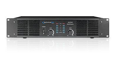 2000W DJ PROFESSIONAL HOME AUDIO DIGITAL STEREO 2 CHANNEL POWER AMP AMPLIFIER  Professional Digital Amplifier