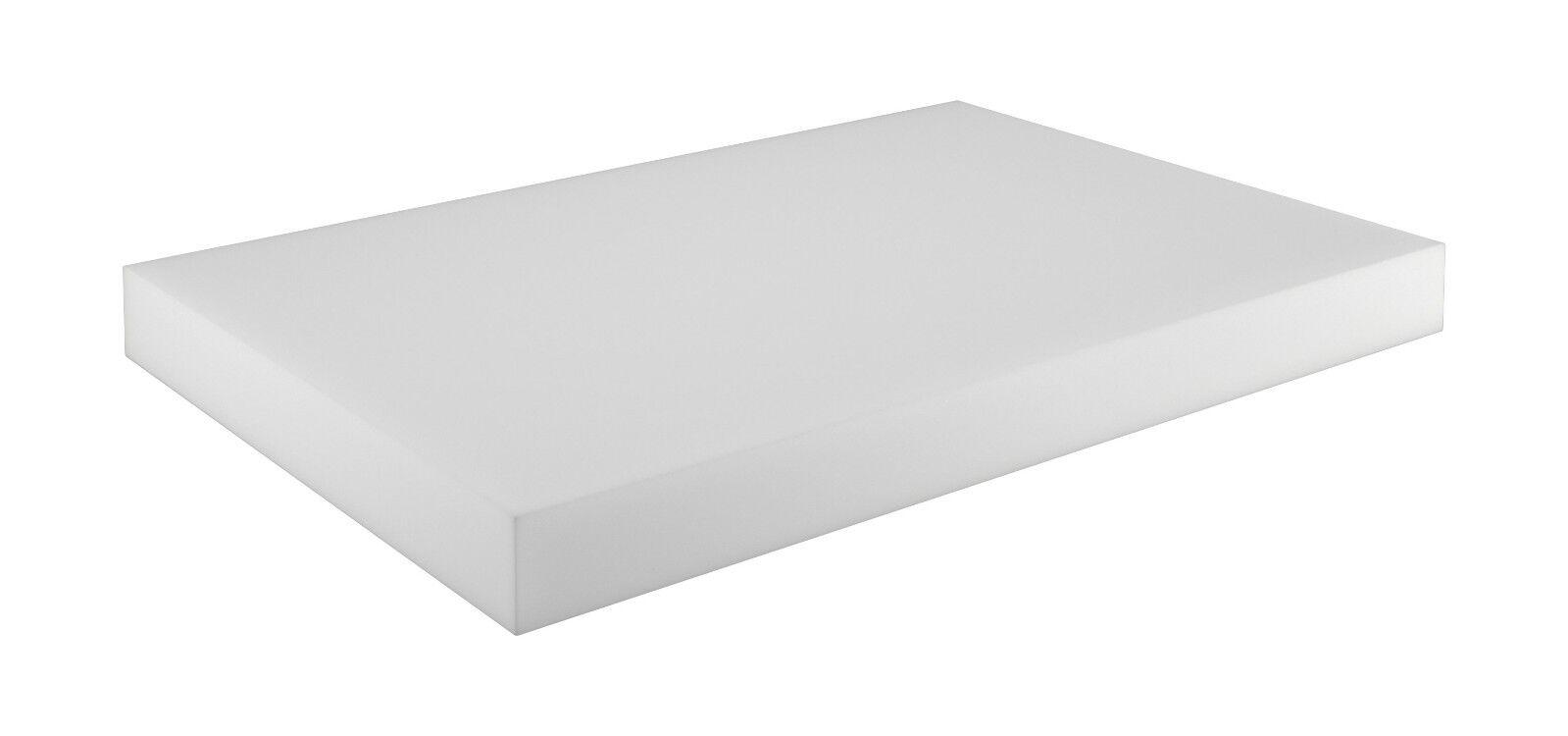 Schaumstoffplatte für Europalette Polsterauflage Matratze Zuschnitt 120x80cm Sitzkissen 120x80x10cm