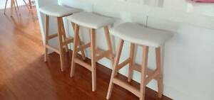 Indoor bar stools x 3