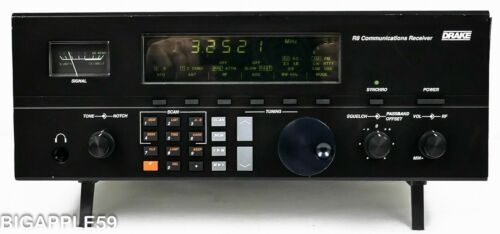 Drake R8 Shortwave AM SSB Ham Radio Communications Receiver **CLASSIC USA UNIT*
