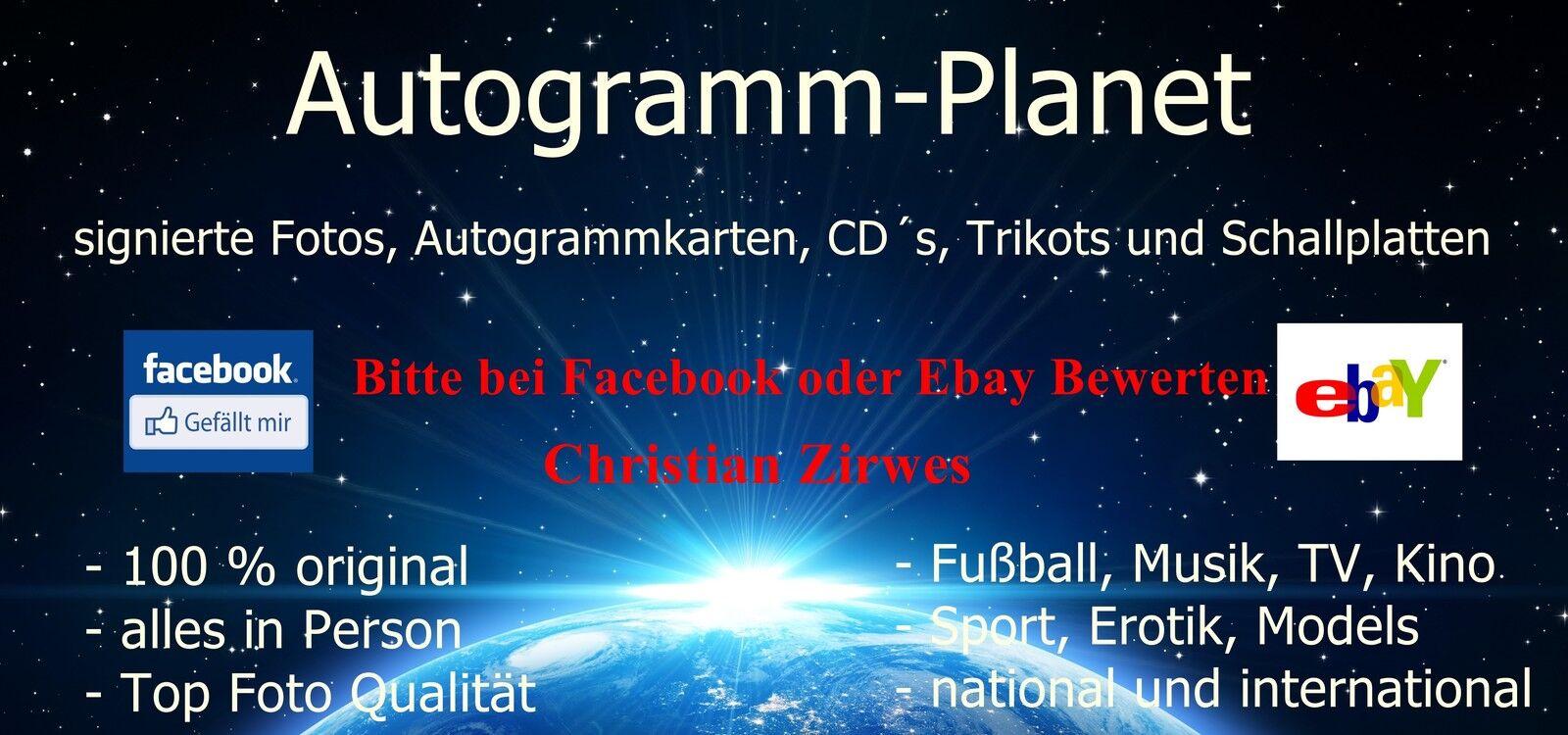 Autogramm-Planet