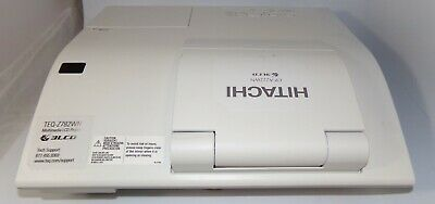 Hitachi CP-A222WN 3LCD Projector 2,731 Lamp Hours with HDMI Great Deal