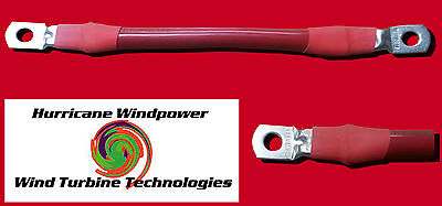 Battery Interconnect Cable Red 14 Inch 20 Awg For Solar Panel Wind Generator