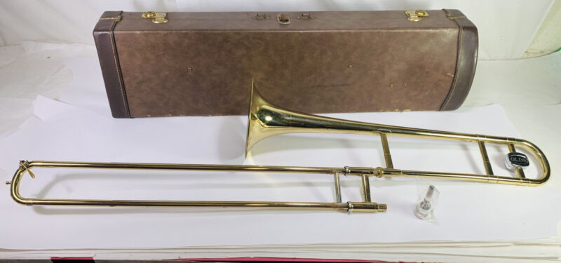 Vintage Olds Ambassador Trombone #922276 Serviced & Ready to Play Guaranteed
