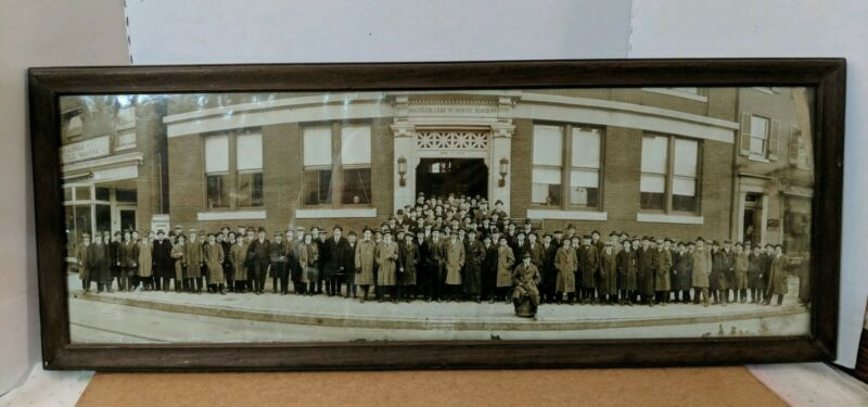 Antique Dental Photo College Of Dental Surgery Photograph Baltimore MD 1839-1914