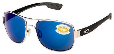 Costa Del Mar Cocos Sunglasses CC-21-OBMP Palladium | Blue Mirror 580P (Costa Del Mar Cocos)