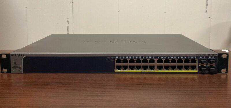 NETGEAR GS728TP-200NAS Smart Managed Pro PoE Switch