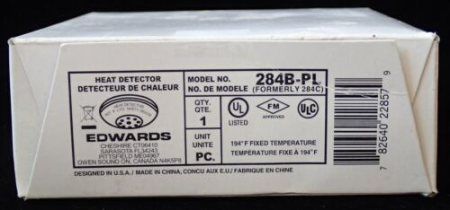 Edwards Heat Detector Model 284B-PL BRAND NEW SEALED