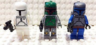 Boba Fett Custom Cloud City Jango Fett  Minifigure Starwars   1 Lego Brick Free