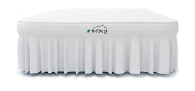 Air Mattress KING size - Best Choice RAISED Inflatable Bed with Fitted Sheet
