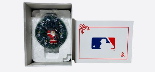 Danbury Mint New York Yankees Christmas Wreath Ornament 2017🔥🔥