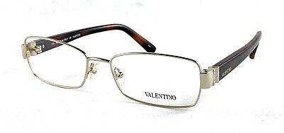 VALENTINO V2105R 718 53-16-130 Light Gold Eyeglasses Frame (Valentino Eyewear)