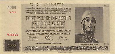 Ro.568b 5000 Kronen 1944 (1) Specimen