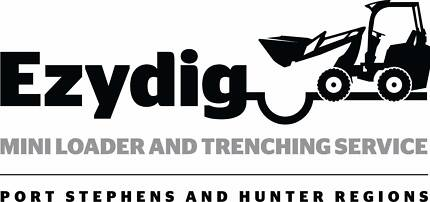 Ezydig mini loader and trenching service Medowie Port Stephens Area Preview