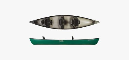 Old Town Saranac 146 XT Canoe 3 Seater with Backrests