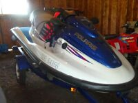 POLARIS GENESSES SEADOO/ WITH TRAILER FOR SALE
