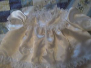 GORGEOUS SATIN AND LACE BAPTISIMAL OUTFIT Cornwall Ontario image 3