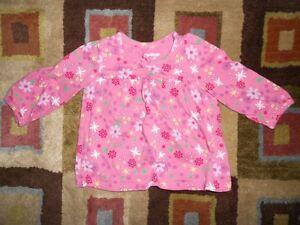9 Months Girls Osh Kosh Long Sleeve Shirt