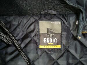 Brody Black Bomber Style Winter Jacket - Mint Condition Size LG Kitchener / Waterloo Kitchener Area image 3