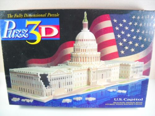 Puzz 3D US Capitol Puzzle 718 Pieces Extra Challenging!