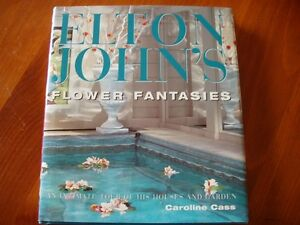 Elton John Flower Fantasies Coffee Table Book