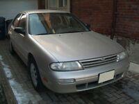 1996 Nissan Altima GXE Sedan