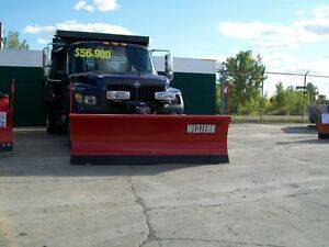 WESTERN SNOWPLOWS FOR THE TERRASTAR TRUCK
