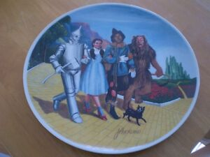 VINTAGE WIZARD OF OZ PLATE Windsor Region Ontario image 1