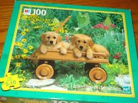 MB and Puzzle World 100 piece junior puzzles