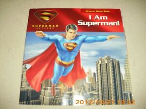 SUPERMAN OFFICIAL MOVIE BOOKS and various titles