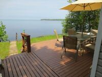 Grand Lake Waterfront Cottage for Rent