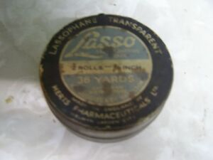 Vintage Lasso Tape Can