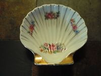 Occupied Japan Seashell Pottery Dish