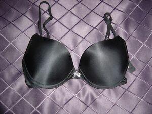 Victoria's Secret Bra Black 34B Push Up