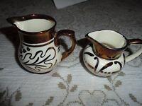 Wade Pottery Cream & Sugar Dishes