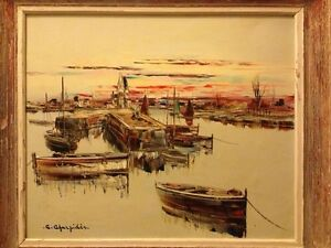Christophe CHARPIDES (French 1909-1992) original oil painting