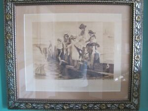 Children Fishing Picture...  now reduced for quick sale!!! Oakville / Halton Region Toronto (GTA) image 1