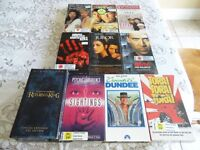 Selected VHS Movies