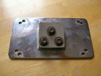 Motorcycle License Plate Mount