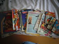 Lot of Older Comic Books and Litterature
