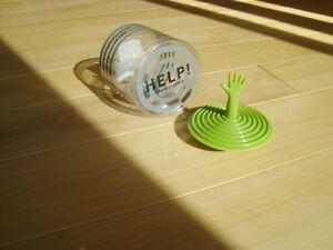 Propaganda Help! Drain Stopper - Green - Brand New - Very Unique Kitchener / Waterloo Kitchener Area image 2
